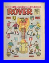 Rover Comic 1970 World Cup May 9th 1970